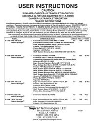Supra F-1000 + RDC Leaflet