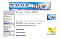 Megaman Compact Reflector GU10 Ingenium 7W MM 14122 GU10 Data Sheet