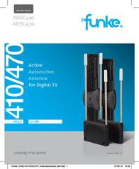 Funke ADSC470 AUTOMOTIVE ANTENNA 97060002 Data Sheet