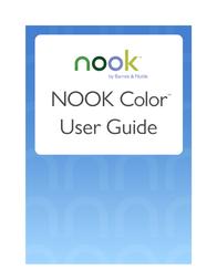 Barnes & Noble Nook Color User Guide