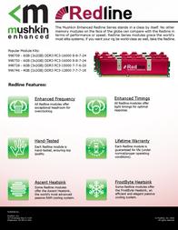 Mushkin 998708 Leaflet