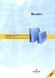 Emerson Liebert PowerSure Personal XT Offline 700VA PSPXT700-230U User Manual