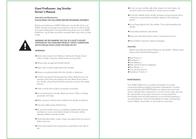 Giant PreRunner Jog Stroller User Manual