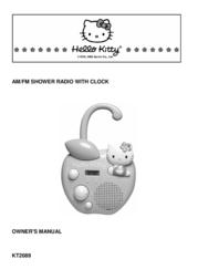 Spectra Hello Kitty KT2089 User Manual