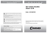 Levolta SolarKit 12W 003-8000710 3 x 4 W 003-8000710 Data Sheet
