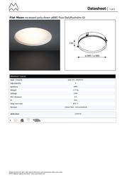 Modular Flat Moon 11856109 Data Sheet