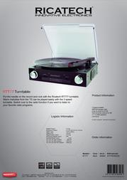 Ricatech RTT77 658000 Leaflet