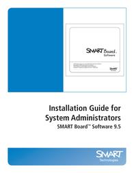 SMART Technologies Board Software 9.5 User Manual