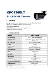 AVTECH KPC136ELT Leaflet