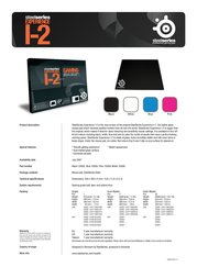 Steelseries Experience I-2 53005SS Leaflet