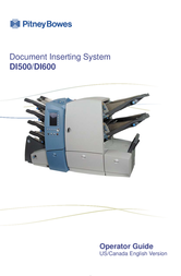Pitney Bowes D1500 User Manual