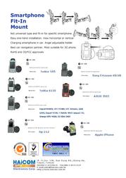 Haicom HI-040 - Nokia E75 GPS HI-040 Leaflet
