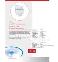 CTX X960A Leaflet