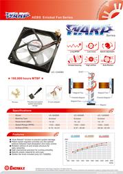 Enermax Warp Fan 120 mm UC-12AEBS Leaflet