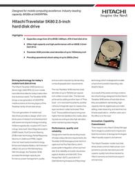 HGST TRAVELSTAR 80GN 60GB ATA5 08K0638 User Manual