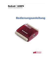 Meilhaus Electronic USB interface module me-redlab 1408 ME-RedLab® 1408FS Data Sheet