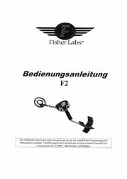 Fisher Research Labs Metal Detector F2-11DD F2-1 F2-11DD Fiche De Données