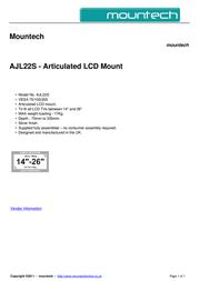 Mountech AJL22S Dépliant