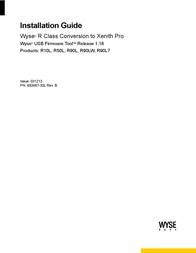 Wyse R10L Manual De Usuario