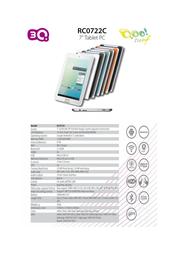 3Q RC0722C RC0722C-B Leaflet