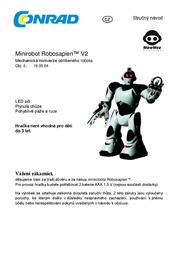 Wowwee Robotics Mini Robosapien V2 073-8191 Toy Robot 073-8191 Data Sheet