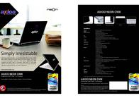 Axioo Neon CNW 5620 CNW.5.620 Leaflet