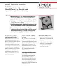 HGST MICRODRIVE 1GB 07N4071 Leaflet