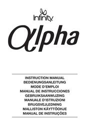 Infinity ALPHA CENTRE BEECH ALPHACB User Manual