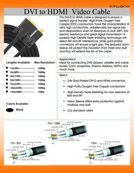 Atlona AT14020-7 Leaflet