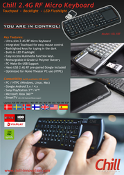Chill Innovation KB-1RF UK Leaflet