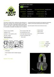 KeepOut HX8 Product Datasheet