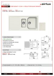 Airlux ALGE15BG Leaflet