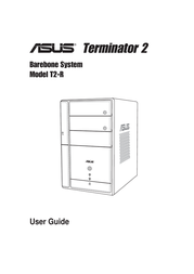 ASUS Terminator T2-R deluxe black T2-RDELUXE User Manual