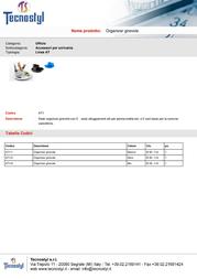 Tecnostyl AT1/6 Leaflet