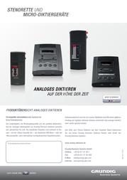 Grundig Business Systems N/A Blac PFQ2611 Data Sheet