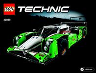 Lego Technic LEGO® TECHNIC 42039 LANGSTRECKEN-RENNWAG 42039 User Manual
