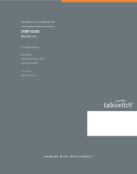Talkswitch CT.TS005.002501 User Manual