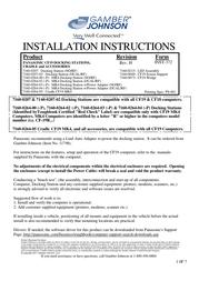 Gamber-Johnson 7160-0264-04 User Manual