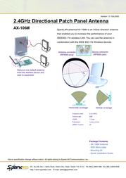 SparkLAN AX-106M Leaflet