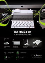 Mobee Technology Magic Feet MO4212 Leaflet