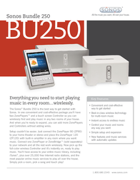 Sonos Bundle 250 BUNDLE 250 Leaflet