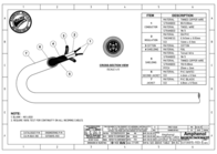 Amphenol XLR, M/F, 1m PD0312A001 Leaflet
