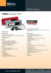Trekstor 1GB i.Beat sweez FM, Silver 71510 Leaflet