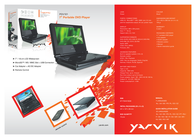 Yarvik 7'' DVD PDV101 Leaflet
