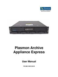 Plasmon 800-102913-00 B User Manual