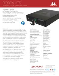 Magma ROBEN-3TS Leaflet
