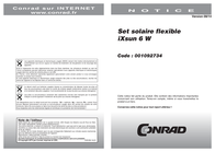 Levolta SolarKit 6W 003-8000700 2 x 3 W 003-8000700 Data Sheet