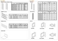 Conteg Plastic cable brackets horizontal 40x50 mm VO-P1-40/50 Leaflet