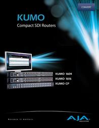 AJA KUMO-1616 User Manual