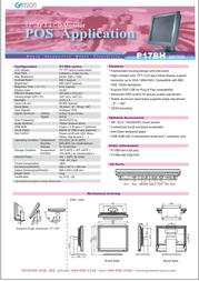 GVision P17BH-AB-4000 Leaflet